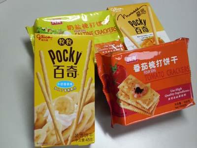 中国のポッキー